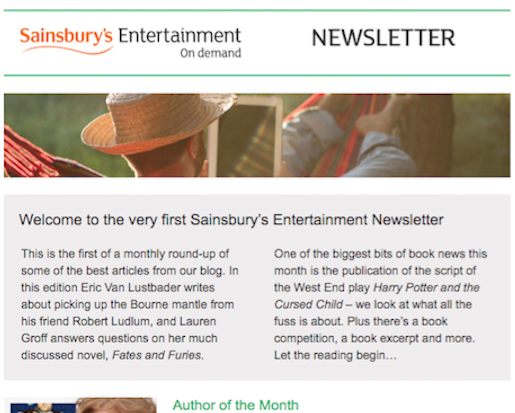 Blog Newsletters